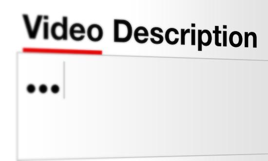 قم بكتابة وصف تفصيلي لفيديوهاتك على يوتيوب: