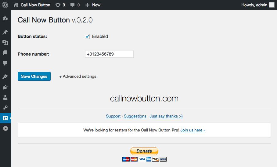 صور اضافة Call Now Button