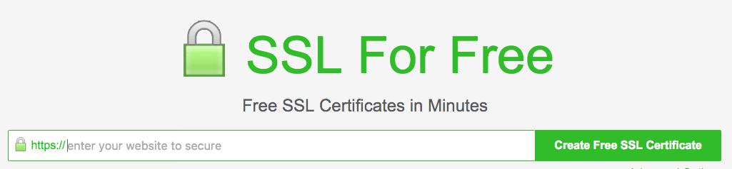 موقع SSL For Free