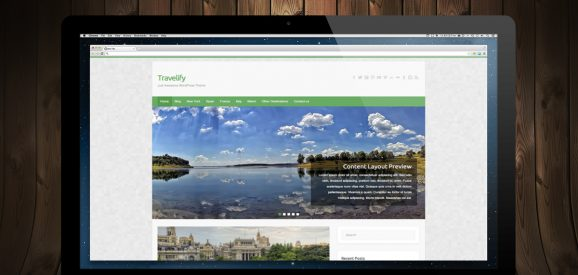 Travelify – Awesome & Responsive Travel WordPress Theme
