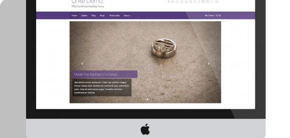 Unite – Free WordPress Wedding Theme
