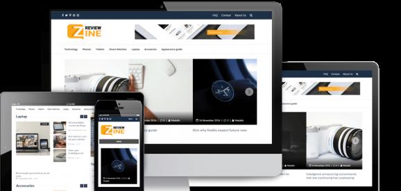review zine screenshot