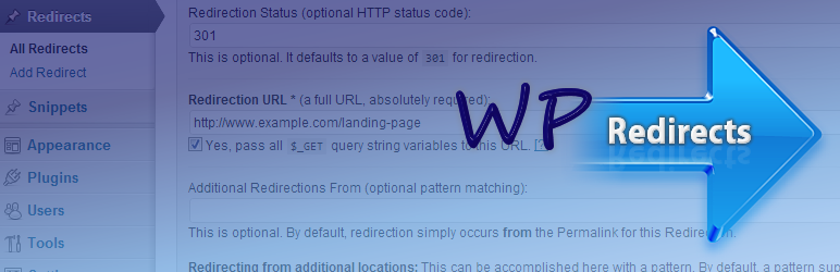 اضافة wp-redirects
