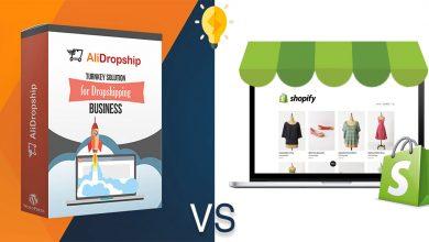Photo of مقارنة بين AliDropship و Shopify لآنشاء متجر دروبشيبنج احترافي