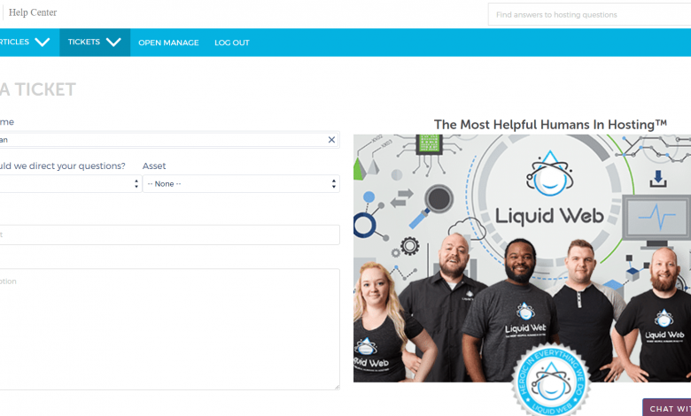 Photo of مراجعة لشركة استضافة liquid web